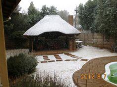 August 2012 Dot Mkenzie - Kempton Park Kempton Park, Gazebo, Outdoor Structures, Snow, Kiosk, Pavilion, Cabana, Eyes, Let It Snow