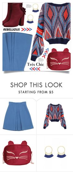 """""""Tres Chic"""" by mahafromkailash ❤ liked on Polyvore featuring Miu Miu"""