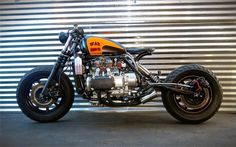 1987 HONDA GOLDWING 'WAR BIRD' - EBAY - INAZUMA CAFE RACER