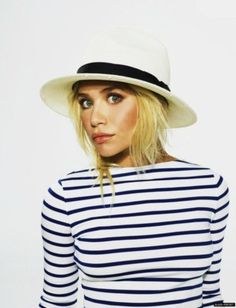 Ashley Olsen Woven & Floppy Hats and Fedoras