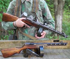 The Soviet PPSH-41 and the Tokarev TT33, which both fire the exact same round - can you guess the caliber? Order your copy of 2015 Surplus Special Edition to read about this iconic firearm today! http://gunsmagazine.com/surplus/