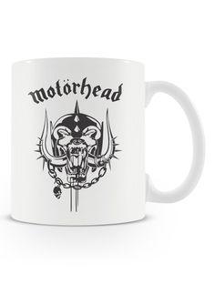Caneca Motörhead | Uma loja de caneca #rock #canecas #heavymetal #lemmy #rocknroll #canecas #musica #bandas