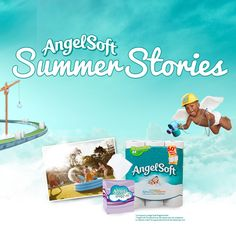 I just created my own Angel Soft® Summer Story. Check it out now, and create your own tales of summer.
