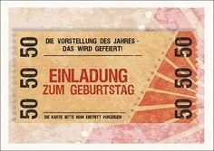 einladungskarten-50-geburtstag-selber-basteln | einladungskarten, Einladungsentwurf