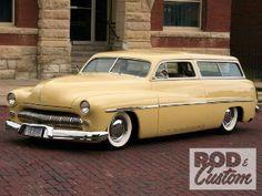 ('51 Mercury Custom Wagon)