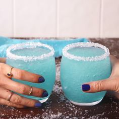 Cheers to Jack Frost! #food #drink #holiday #christmas #ideas #inspiration #forkyeah #easyrecipe #recipe #instagood