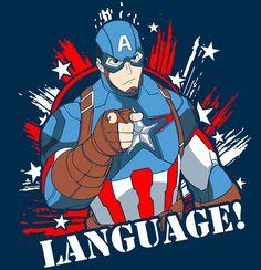 Captain America by bleedman.deviantart.com on @DeviantArt