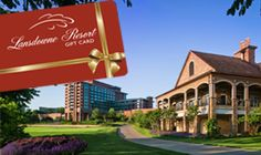 Gift card for my girls weekend Virginia Golf and Spa Vacations | Lansdowne Resort - Gift Cards | Luxury VA Resorts