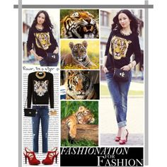 """Tiger"" by chareznasheer on Polyvore"