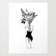 Art Print featuring Fragile by Henn Kim