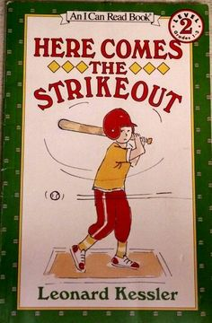 Kessler, Here Comes the Strikeout, school age, sports, baseball, character building