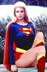 Helen Slater as Supergirl (DC Comics). Helen Slater Supergirl, Supergirl 1984, Supergirl Movie, Comic Book Characters, Comic Book Heroes, Marvel Dc, Chica Fantasy, Superman Family, Cosplay Costume