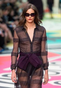 London Fashion Week.  Burberry (Getty Images)