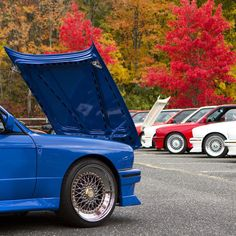 Beautiful fall day in Farmingdale, NJ at the 16th Annual E30 M3 SIGFest.  Over 50 E30 M3s gather annually - this is a must see event for any petrolhead!  #BMW #e30 #m3 #e30m3 #sigfest #s14 #mpower #dtm #godschariot #bmwblog #sigfest2015 #bimmer #classic #bmwclassic #boxedfenders #bbs #n54  #ultimateklasse #jalopnik #respectyourelders #fall #foliage #leaves #e30life #respectyourelders  #bmwstories #bmwrepost #bmwusa @mncperformance @bbs.wheels @mkiimike