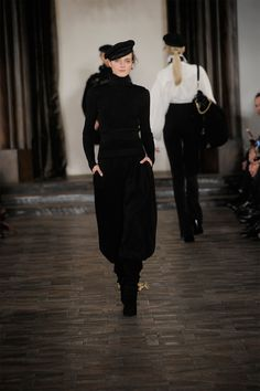 Ralph Lauren Collection Fall 2013 Back To Black, All Black, Ralph Lauren  Collection, c099e881bc97