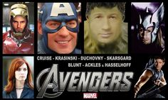 The actors who could've been THE AVENGERS | Warped Factor - Daily features and news from the world of geek