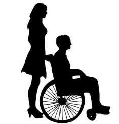 Wife And Wheelchair, Love, Casal