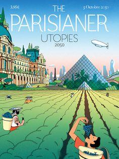 Paris 2050 : découvrez à quoi ressemblera la capitale !