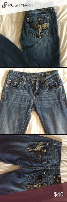 Miss Me Boot-Cut Jeans boot cut Miss Me's jeans! size 27, still in great condition! Miss Me Jeans Boot Cut