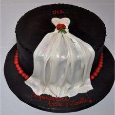 My gorgeous wedding shower cake