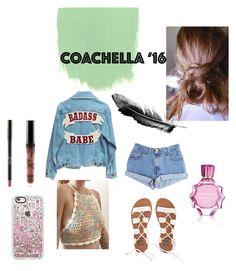 """Coachella"" by foxescitys on Polyvore featuring Levi's, Billabong, Casetify and Oscar de la Renta"