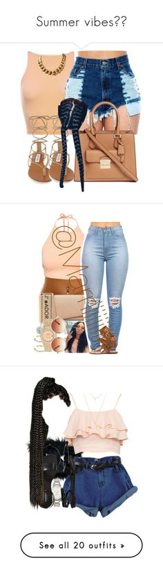 """""""Summer vibes🌻✨"""" by eazybreezy305 ❤ liked on Polyvore featuring Michael Kors, Steve Madden, NLY Trend, Valextra, Allurez, Ivanka Trump, Rolex, Topshop, Valentino and Joanna Pybus"""