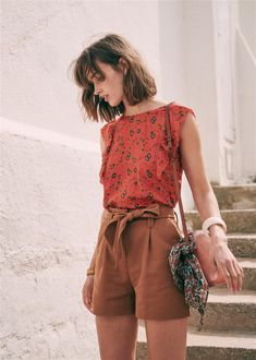 Looks Style, Style Me, Spring Summer Fashion, Spring Outfits, Look Fashion, Fashion Outfits, Casual Outfits, Cute Outfits, Look Boho