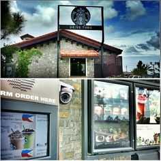 First time to see the #starbucks #drivethrough in the # philippines I saw this one long time ago when i back to #japan #coffee #drive #日本 では見たことあったけど、#フィリピン では初めて見た。 #スターバックス #ドライブスルー