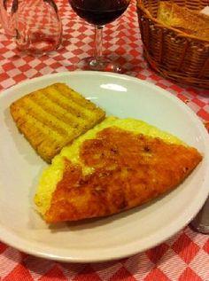 frico e polenta- restaurant in Udine,  Al Vecchio Stallo