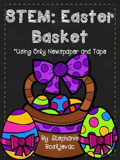 Easter Activities, Teaching Activities, Teaching Science, Steam Activities, Notes To Parents, Parent Notes, Problem Based Learning, Stem Learning, Easter Baskets To Make