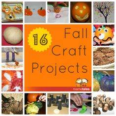 16 Fall Craft Projects