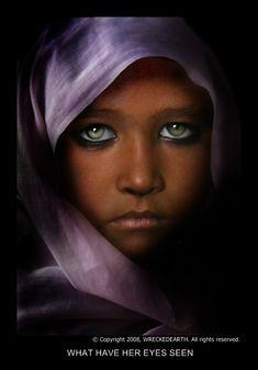 Oh, Those Eyes. Afghanistan