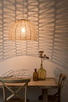 Plant Fibre Shade for Pendant Light on Maisons du Monde. Take your pick from our furniture and accessories and be inspired! Ceiling Light Shades, Ceiling Lights, Living Room Decor Cozy, Plant Fibres, 3d Design, Kids Room, Lighting, Pendant, Plants