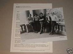 """Gallery"" 1980 ECM David Sumuels Michael Dipasqua Paul McCandless David Darling Ratzo Harris"