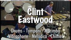 Gorillaz - Clint Eastwood Cover - Drums, Tympani, Marimba, Vibes, Melodi...
