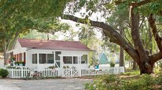 15. Old Soul Georgia Cottage | From polished and sophisticated to rustic and casual, you can find your very own coastal style from this collection of our favorite beach cottages.