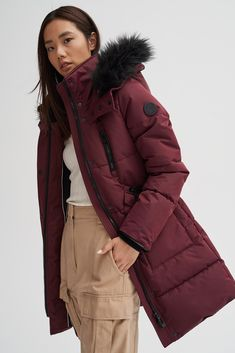 Cool Outfits, Casual Outfits, Fashion Outfits, Stylish Jackets, Korean Girl Fashion, Layering Outfits, Western Outfits, Comfortable Fashion, High Collar