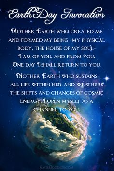 Today, we honor the ultimate mother: Mother Earth. She deserves our love, for how much love she gives us. In what ways are you giving back to her today? Source by sagegoddess Gaia Goddess, Mother Goddess, Earth Sun And Moon, Earth Day Quotes, Prayer For Mothers, Mother Nature Quotes, Healing Words, Mother Earth, Mother Mother