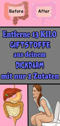Entferne 13 Kilo Giftstoffe aus deinem Dickdarm mit nur 2 Zutaten Remove 13 kilos of toxins from your colon with only 2 ingredients Health Goals, Health Tips, Health Fitness, Fitness Abs, Track Workout, Workout Guide, Exercise Legs, Colon, Printable Workouts