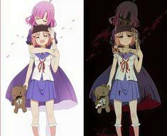 Znalezione obrazy dla zapytania gakkou gurashi yuki x kurumi Kawaii Anime, Loli Kawaii, Anime Girl Neko, Kawaii Cute, Manga Girl, Manga Anime, Anime Art, Dark Anime, Anime Zombie