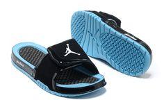 2d565a6d5ac6ae Cheap Nike Jordan Hydro 2 Slide Sandal Black Turquoise For Wholesale