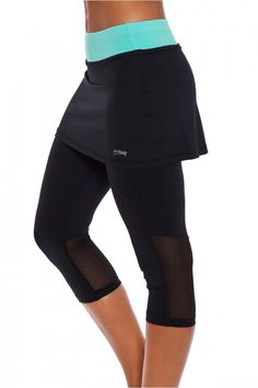 Tennis Clothes l Sofibella Essence Tennis Skirt Capri : 1526