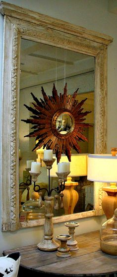 interior design - mirror over mirror