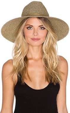 Shop Now - >  https://api.shopstyle.com/action/apiVisitRetailer?id=537138296&pid=uid6996-25233114-59 ale by alessandra Sancho Hat in Brown.  ...
