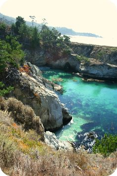 Point Lobos State Natural Reserve in Cali - via My happy sewing place
