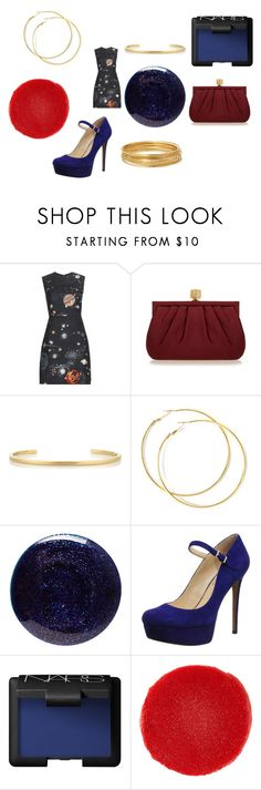 """""""Guardian of the fashion galaxy"""" by alisafranklin on Polyvore featuring Valentino, Wilbur & Gussie, Jennifer Fisher, Lauren B. Beauty, Jessica Simpson, NARS Cosmetics, Christian Louboutin and Bold Elements"""