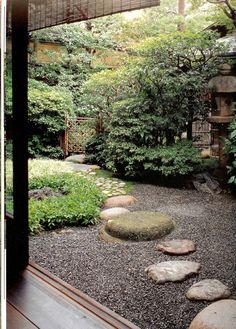 Japanese Garden & Courtyard Garden in SUKIYA-japan
