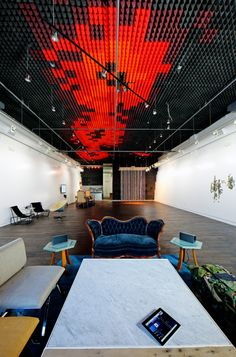 Office Ceiling Cloud Designed by Sonos Studio