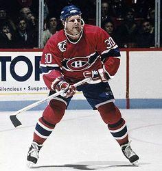 Chris Nilan, #30 Montreal Canadiens, Mtl Canadiens, I Am Canadian, Boston Sports, Club, Hockey Players, Nhl, Workout, Hockey Stuff