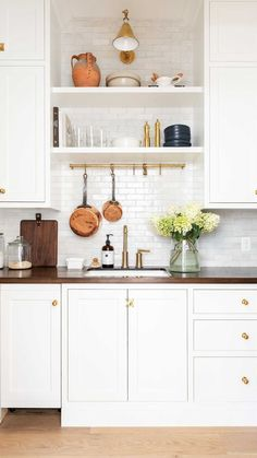 """Studio McGee on Instagram: """"To the many of you who have been patiently waiting for our pantry tour—today's your day! #themcgeehome"""" Patiently Waiting, Studio Mcgee, Interior Design Kitchen, Interior Design Inspiration, Floating Shelves, Pantry, Kitchen Cabinets, Home Decor, Dream Kitchens"""